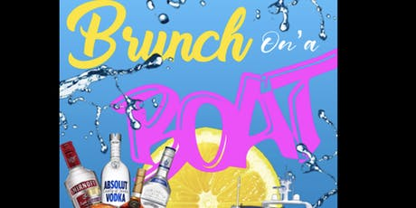 Brunch On'a Boat tickets