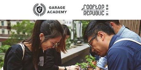 Garage Greens Urban Farming Experience tickets