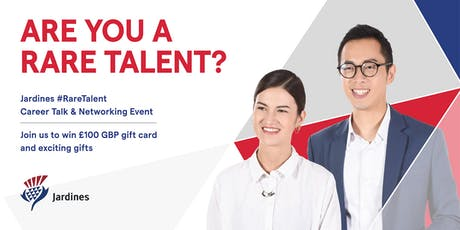 Warwick x Jardines #RareTalent Career Talk & Networking Event  tickets