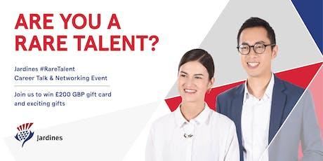 London Joint Universities x Jardines #RareTalent Career Talk & Networking Event  tickets