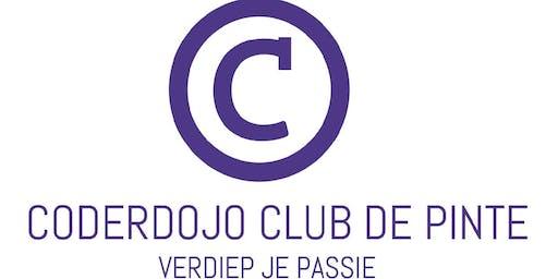 Coderdojo Club De Pinte Schooljaar 2019-2020