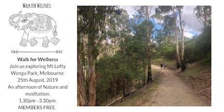 Walk for Wellness - Mt Lofty tickets