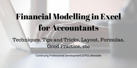 Financial Modelling in Excel for Accountants tickets