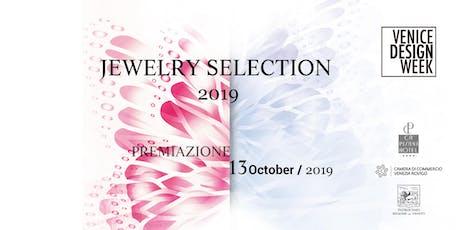 Premiazione VDW Jewelry Selection 2019 biglietti