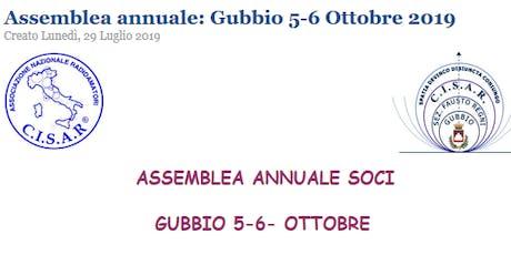 Assemblea Nazionale 2019 C.I.S.A.R. (Gubbio - Perugia) biglietti