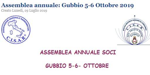 Assemblea Nazionale 2019 C.I.S.A.R. (Gubbio - Perugia)