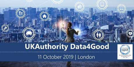 UKAuthority Data4Good 2019 tickets