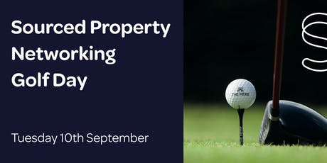 Sourced Property Networking Golf Day  tickets