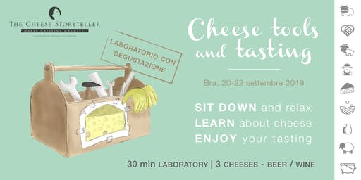 Cheese Tools and Tasting | Laboratorio con degustazione