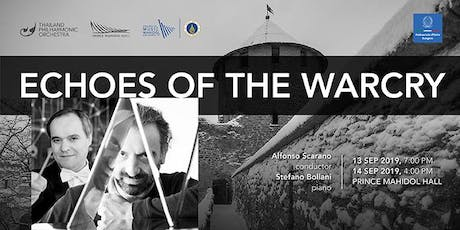 Stefano Bollani Piano and the Thailand Philharmonic Orchestra - ECHOES OF THE WARCRY tickets