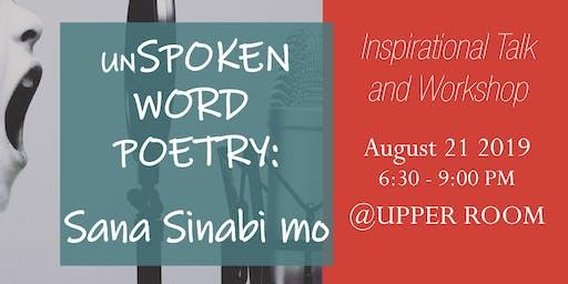 unSPOKEN WORD POETRY | Sana Sinabi Mo #Ghosting