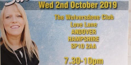 An Evening of Mediumship with the wonderful Sue Hind Wed 02/10/19 7pm-10pm tickets