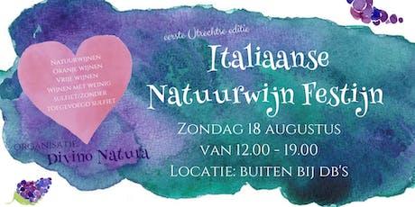 Italiaanse Natuurwijn Festijn tickets