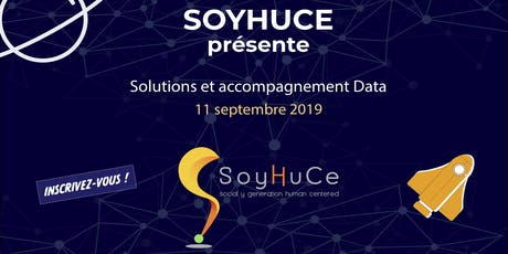 Solutions et accompagnements Data par SoyHuCe tickets