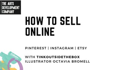 How to Sell Online: Instagram, Pinterest & Etsy tickets
