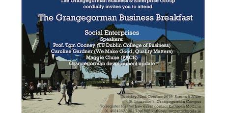 Grangegorman Business Breakfast - Social Enterprises tickets