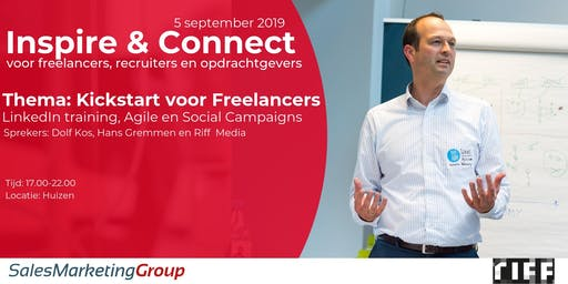 Inspire & connect | Special voor startende freelancers
