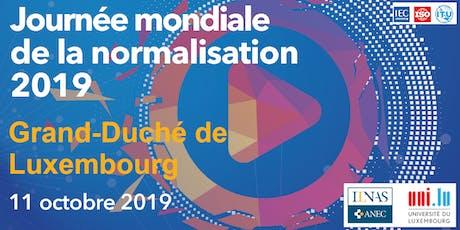 Journée Mondiale de la Normalisation 2019 Tickets