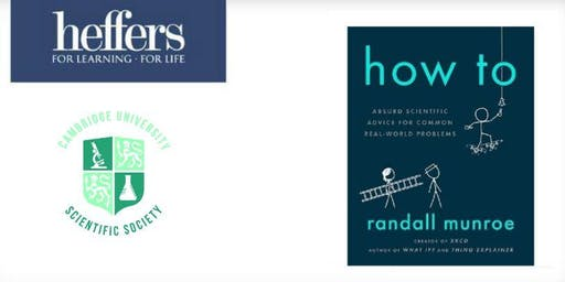 SOLD OUT 'How To' - An evening with Randall Munroe TICKET WITH BOOK