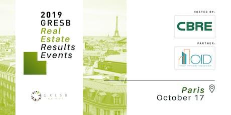 2019 GRESB Results | Paris tickets