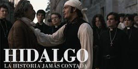 """Ciclo de cine Mestizo Lab: """"Hidalgo: la historia jamás contada """"  entradas"""