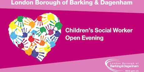 Children's Social Work Open Evening tickets