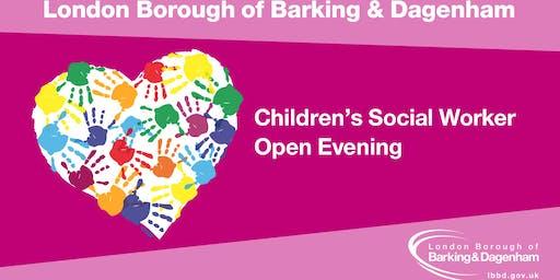 Children's Social Work Open Evening