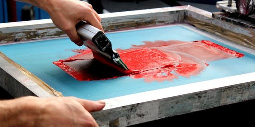 Screen Printing Workshop / Make your own tote bag
