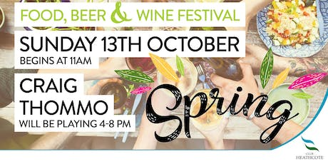 Spring Food, Beer and Wine Festival tickets