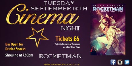 CINEMA NIGHT - Rocketman tickets