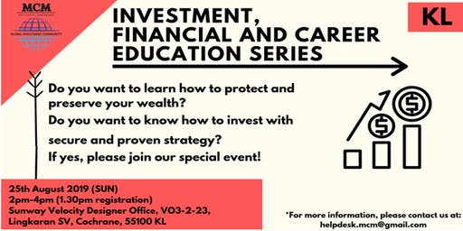 Investment, Financial and Career Education Series