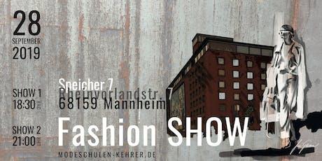 Fashion Show der Modeschule Brigitte Kehrer Mannheim Tickets