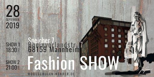 Fashion Show der Modeschule Brigitte Kehrer Mannheim