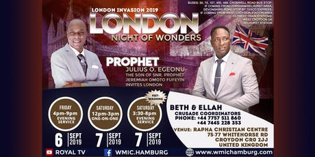 London - Night of Wonders tickets