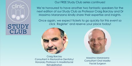 Clinic 334 Study Club tickets