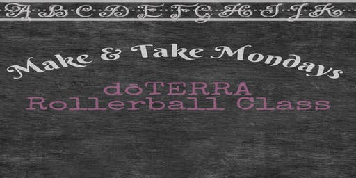 doTERRA Make and Take Mondays