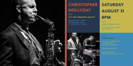 Christopher Hollyday  tickets