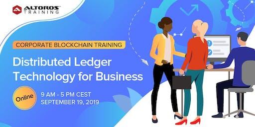 Online Blockchain Training: Distributed Ledger Technology for Business [CEST]