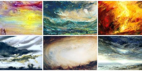 PAINTING SKIES, STORM CLOUDS & VAPOURS with artist Tiana Marie tickets