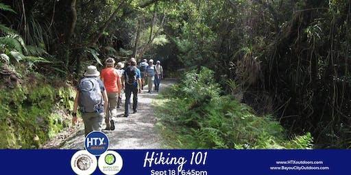 HTXO & BCO present: Hiking 101 (live)