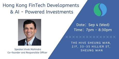 Hong Kong FinTech developments & AI powered investments tickets