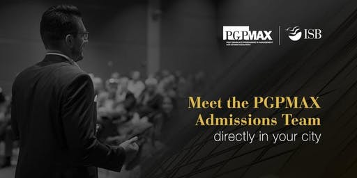 Indian School of Business (ISB), PGPMAX Coffee Meet,Chennai