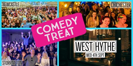 HopFuzz Tap Room's Comedy Treat! (West Hythe)  tickets
