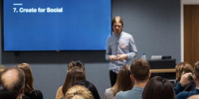 Marketing Meetup: Demystifying paid-social: from low-budgets to conversion