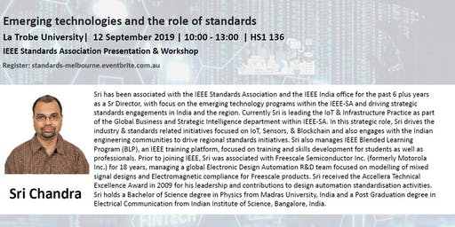 Emerging technologies and the role of standards