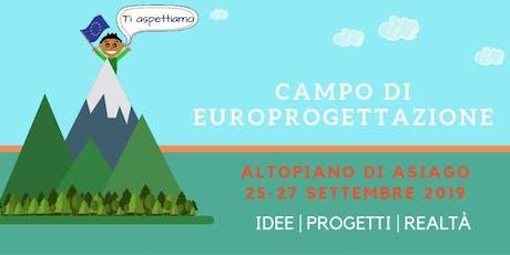 Campo di Europrogettazione biglietti