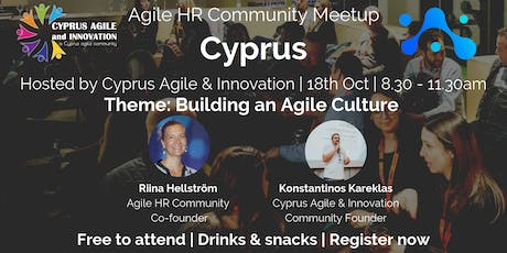 Agile HR Meetup Cyprus | Hosts Cyprus Agile |Agile Culture tickets