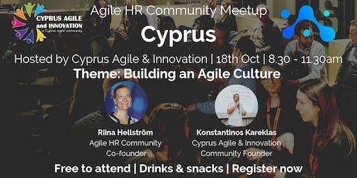 Agile HR Meetup Cyprus | Hosts Cyprus Agile |Agile Culture