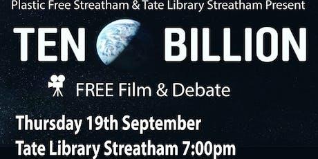 Ten Billion Film Screening plus Q&A tickets