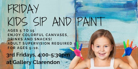 Friday KIDS Sip and Paint tickets